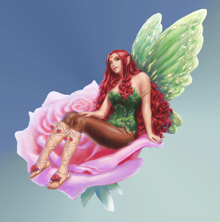 One of the The Earth Faeries in my Stories