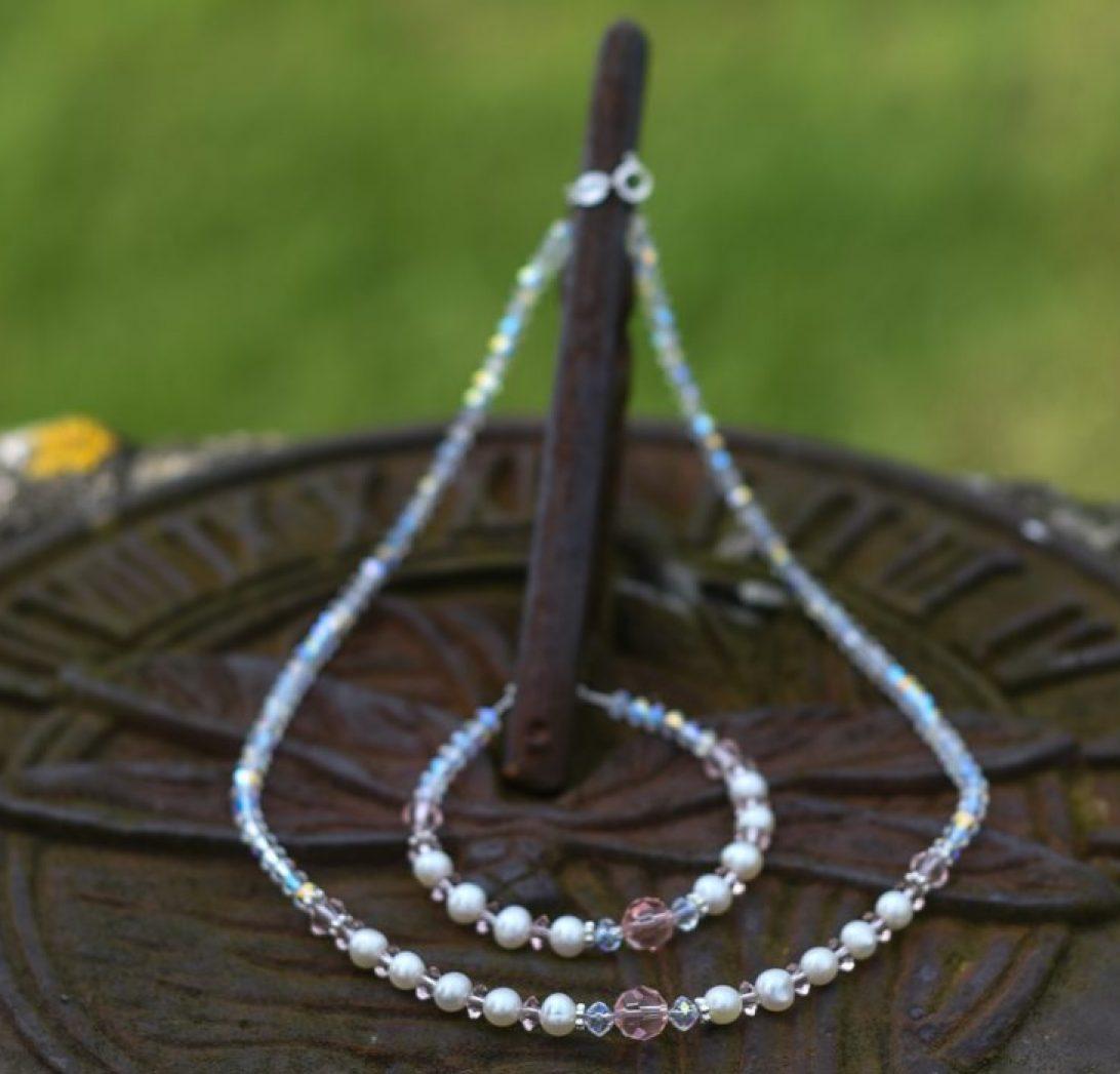 Swarovski jewellery collection for brides