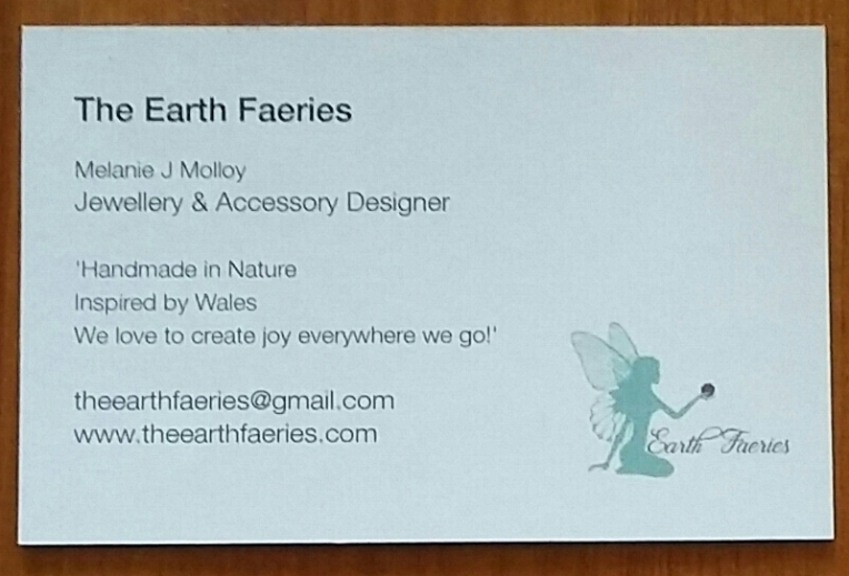 The Earth Faeries business cards