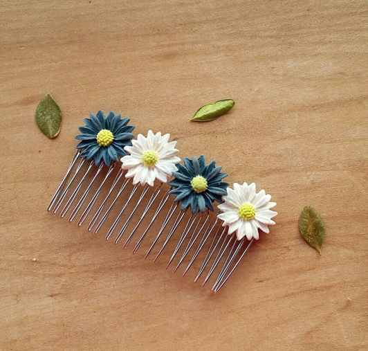 Daist hair comb for the spring & summer